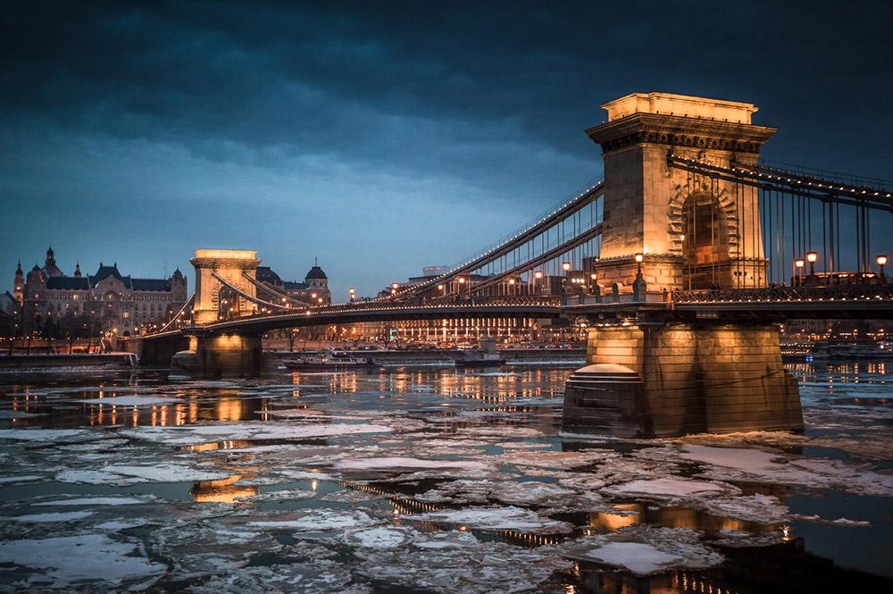 Winter Budapest December - photo: Krenn Imre