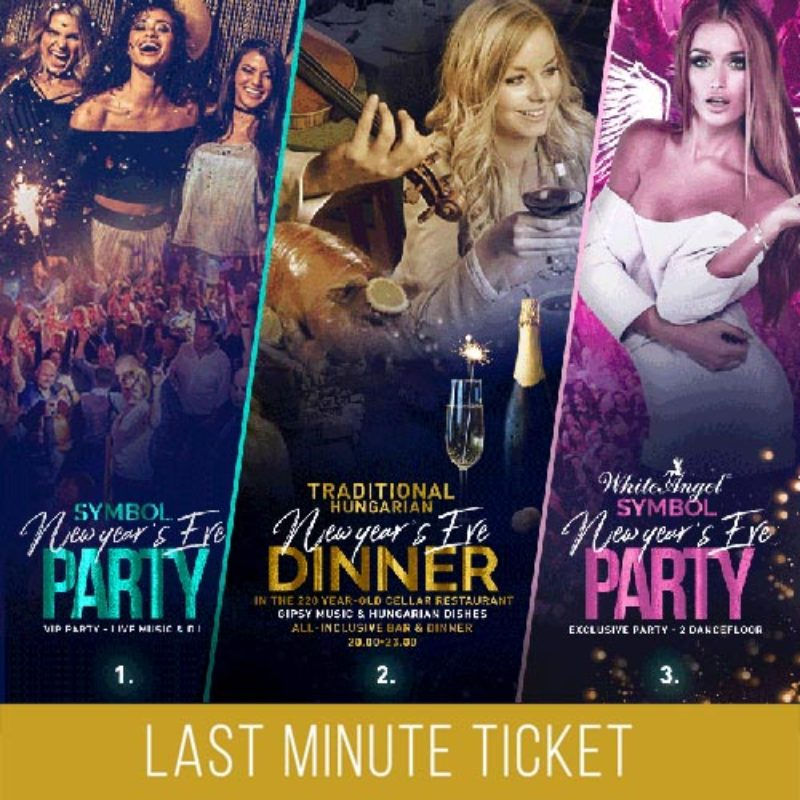 Symbol NYE Last Minute Ticket