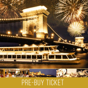 NEW YEAR'S CRUISE BUDAPEST - PRE BUY TICKET