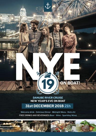 New Year Cruise Budapest