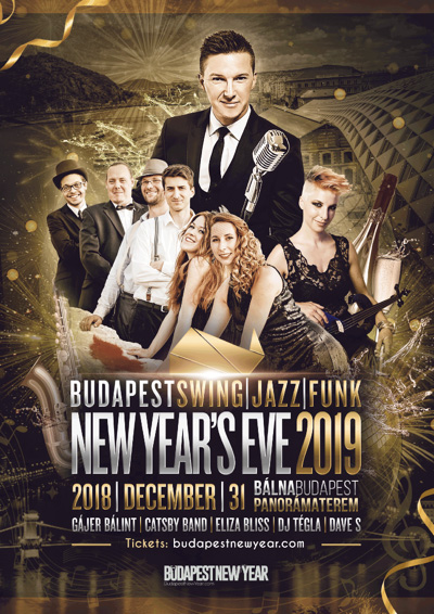 BUDAPEST SWING JAZZ FUNK NEW YEAR'S EVE PARTY